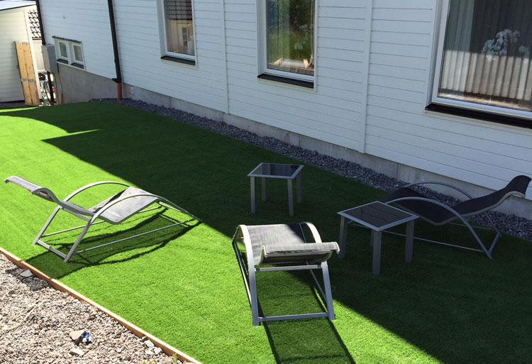 Trädgård i Upplands Väsby