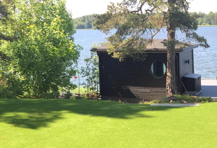 Trädgård i Vendelsö