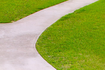 Konstgräs mittremsa