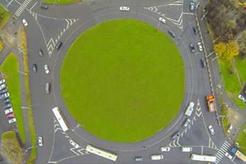 Konstgräs rondell