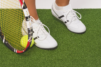 Konstgräs tennis
