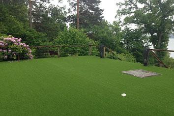 Konstgräs terrass