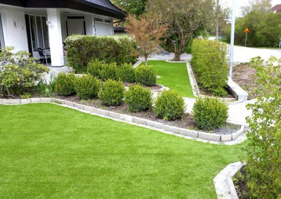 Trädgård & putting green i Danderyd