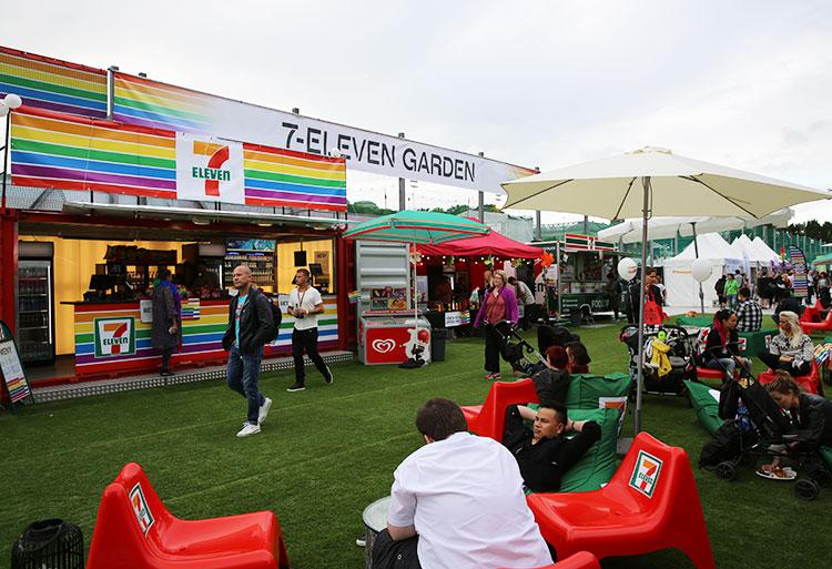 7-Eleven på Stockholm Pride 2015 (Aktiva Event)