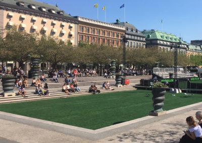 UEFA-event i Kungsträdgården