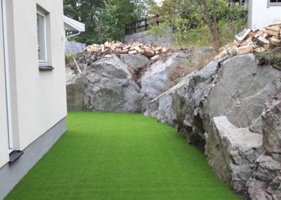 Villaträdgård i Hässelby
