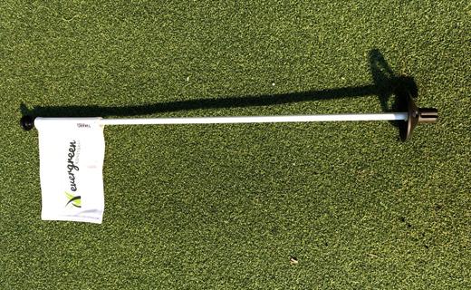 Flaggstång golfgreen