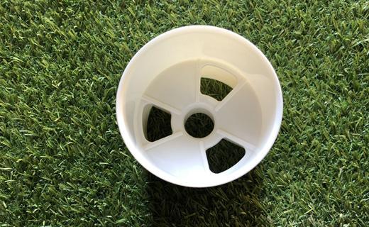 Hålkopp golfgreen