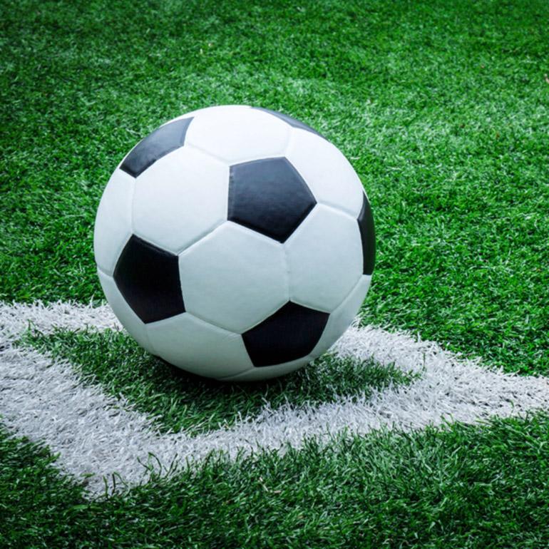 Konstgräs för fotboll