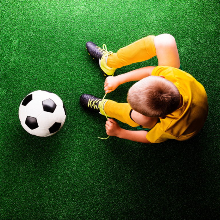 Konstgräs fotbollsplan