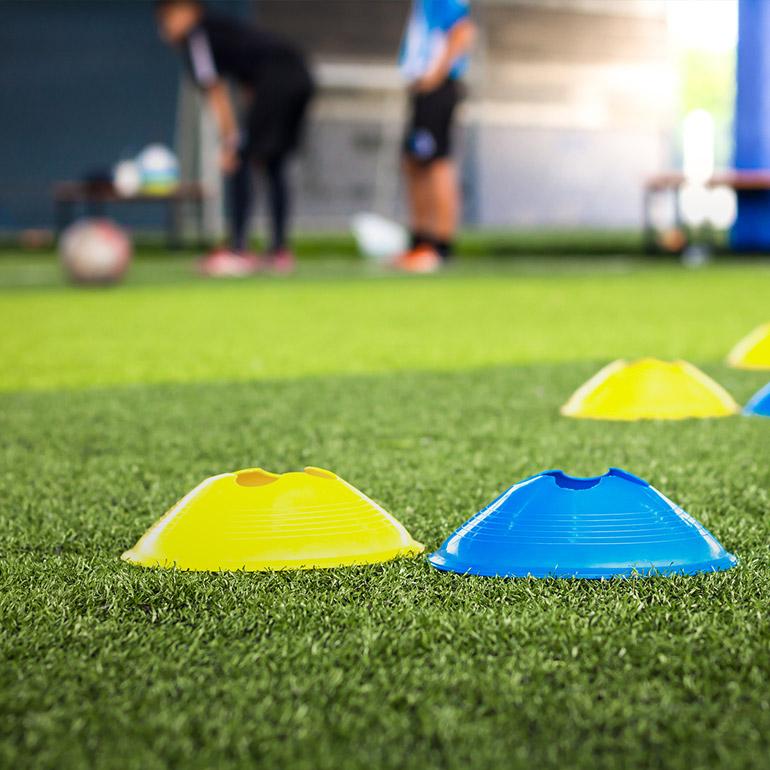 Konstgräsplan fotboll
