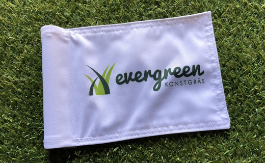 Puttingflagga golfgreen