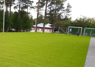 Multisportplan på Friggaskolan i Östersund
